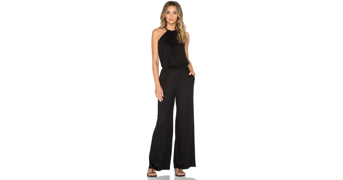 75fd7df2215d Lyst - Trina Turk Imma Jumpsuit in Black