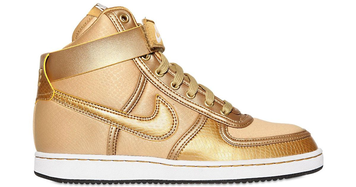 946d1b53e578 Lyst - Nike Vandal High Top Sneakers in Metallic for Men