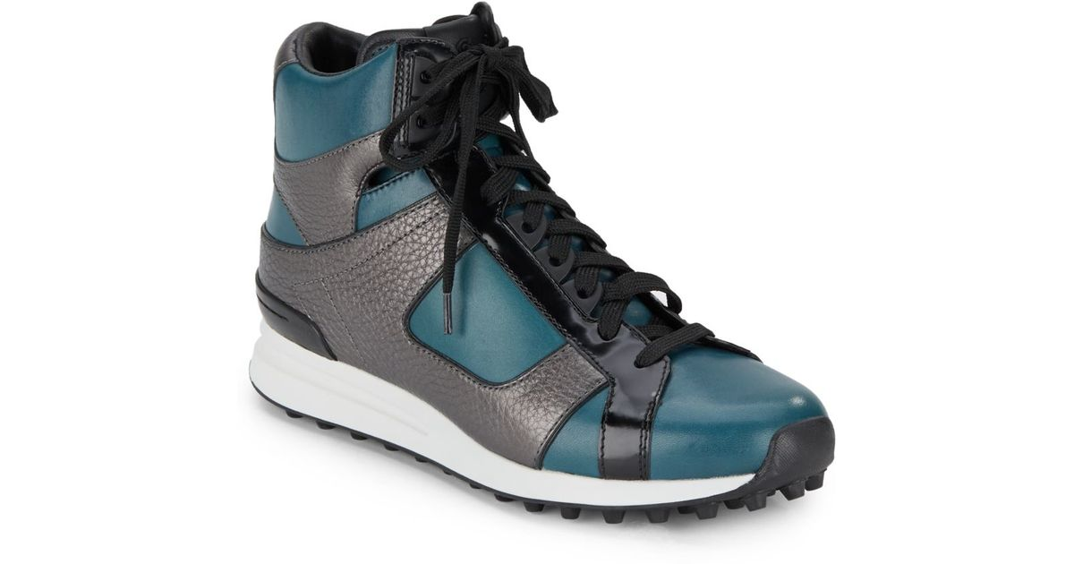 3.1 Phillip Lim Off-White Huron Moc High-Top Sneakers