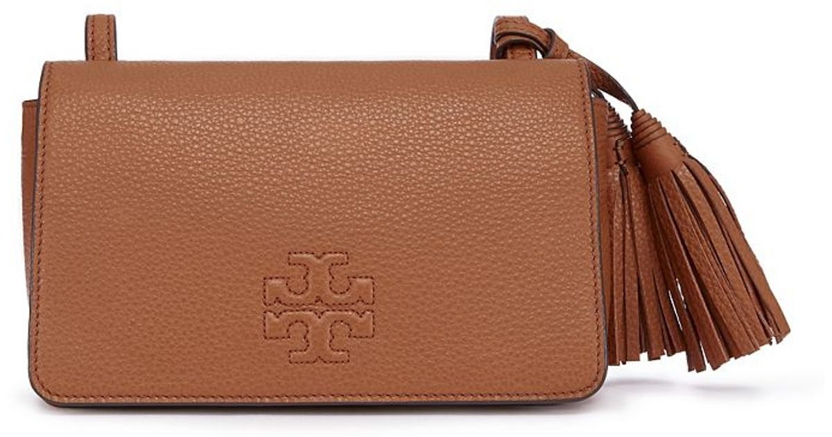 96eca7401f59e Lyst - Tory Burch Thea Mini Bag in Brown