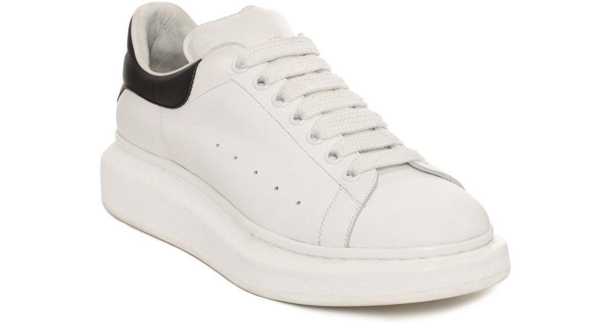 McQ Alexander McQueen White & Bronze Oversized Sneakers W6QmzJpSn