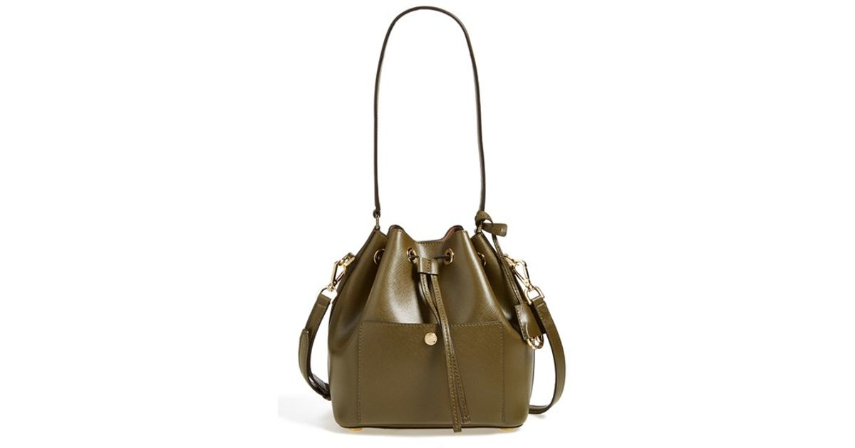 ... australia lyst michael michael kors medium greenwich bucket bag in green  2a53f 43c59 658335b141f02