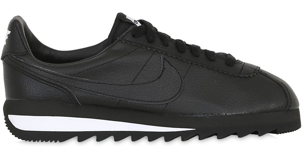 6a7070911c71 ... promo code for lyst nike classic cortez epic premium sneakers in black  e0b39 27858