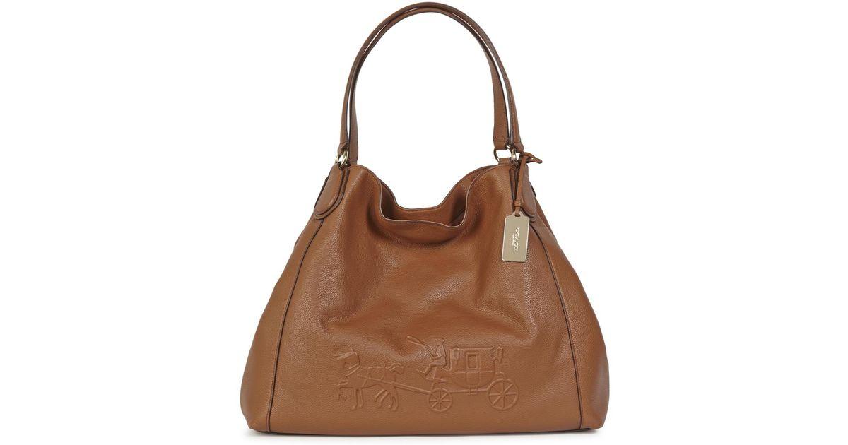 Hobo Bags - Edie Shoulder Bag 31 Fatigue/Dark Gunmetal - brown - Hobo Bags for ladies Coach 3HgWeV6Q