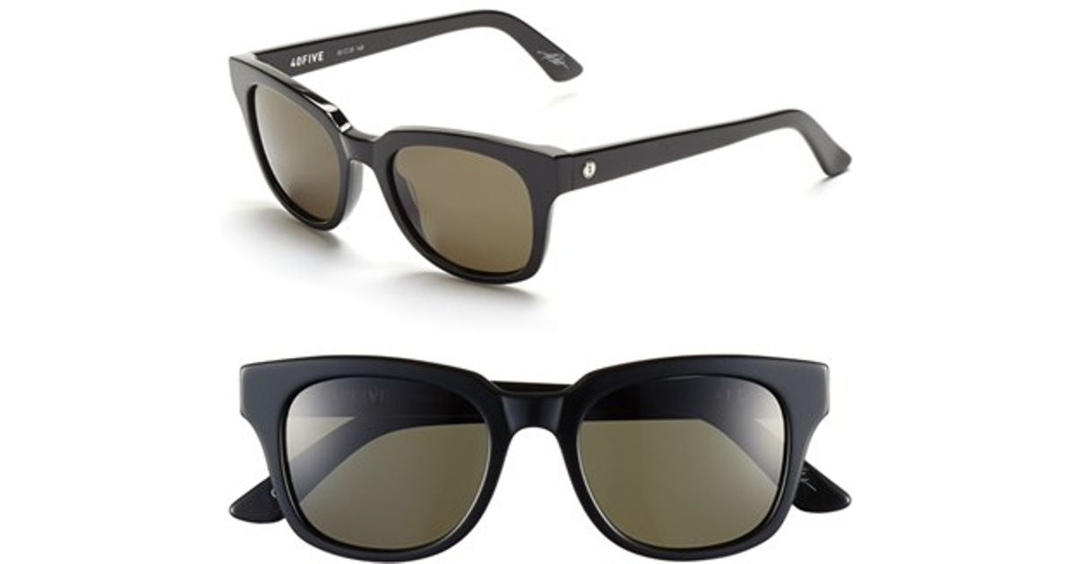 1163a6d329 Electric  40five  50mm Sunglasses - Gloss Black  Grey in Black for Men -  Lyst