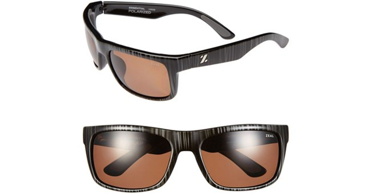 21a30b76229 Lyst - Zeal Optics  essential  Polarized Plant Based Sunglasses in Black