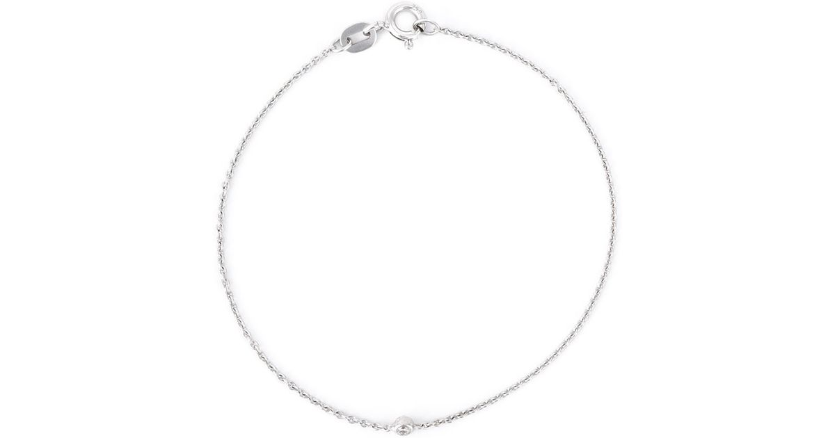 Wouters & Hendrix Baguette 18kt gold diamond bracelet - Metallic DjoC7ZgG