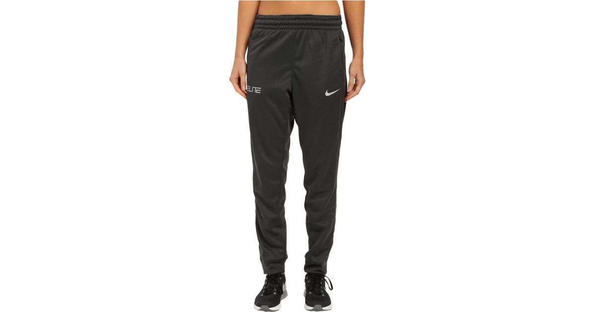 d59e30f781c0 ... Basketball Pants BlackGrey - Mens nike lebron cuff pants lebron black anthracite  nike elite cuff pants in gray for men lyst ...