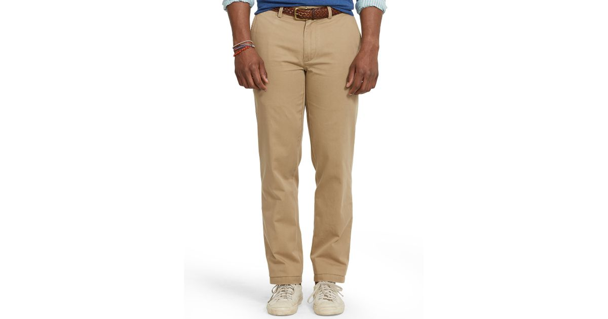 fe49fd1570b Lyst - Polo Ralph Lauren Classic-Fit Preppy Chino in Natural for Men