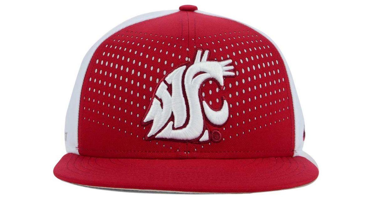 13294833037f4 Lyst - Nike Washington State Cougars True Seasonal Snapback Cap in Red for  Men