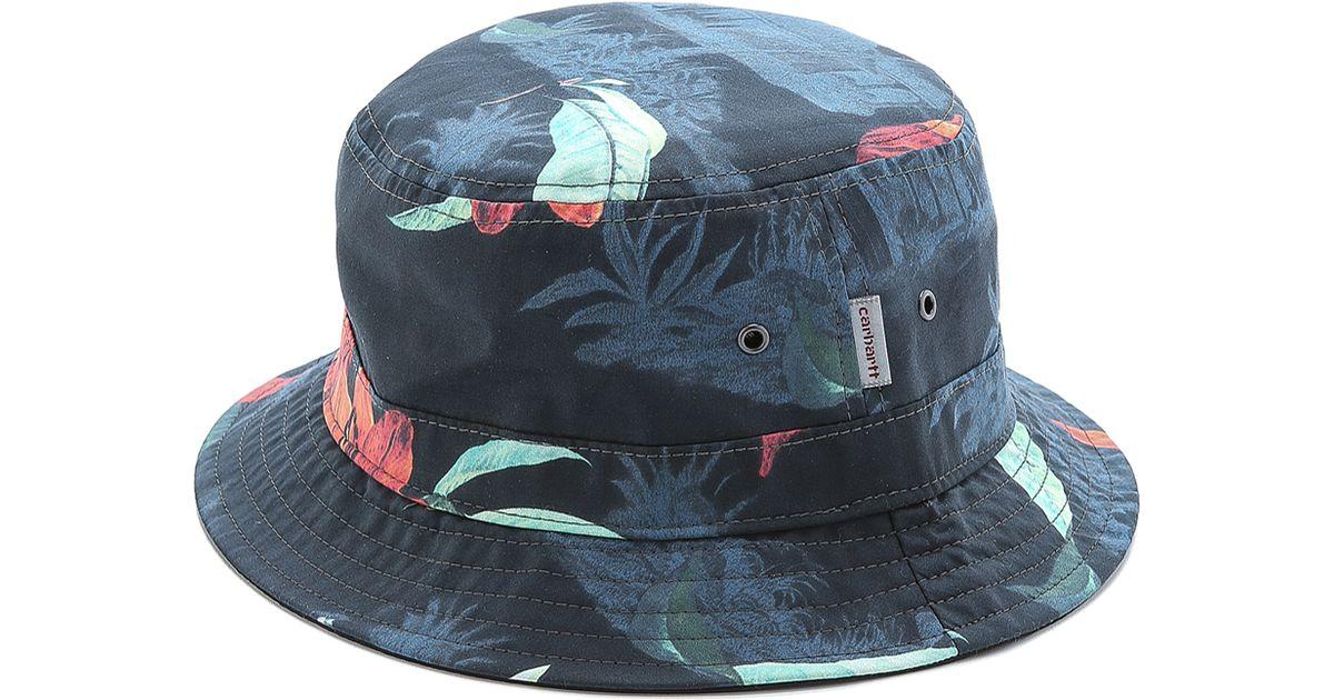 9abd42d7d3d Lyst - Carhartt WIP Reversible Bucket Hat in Black for Men
