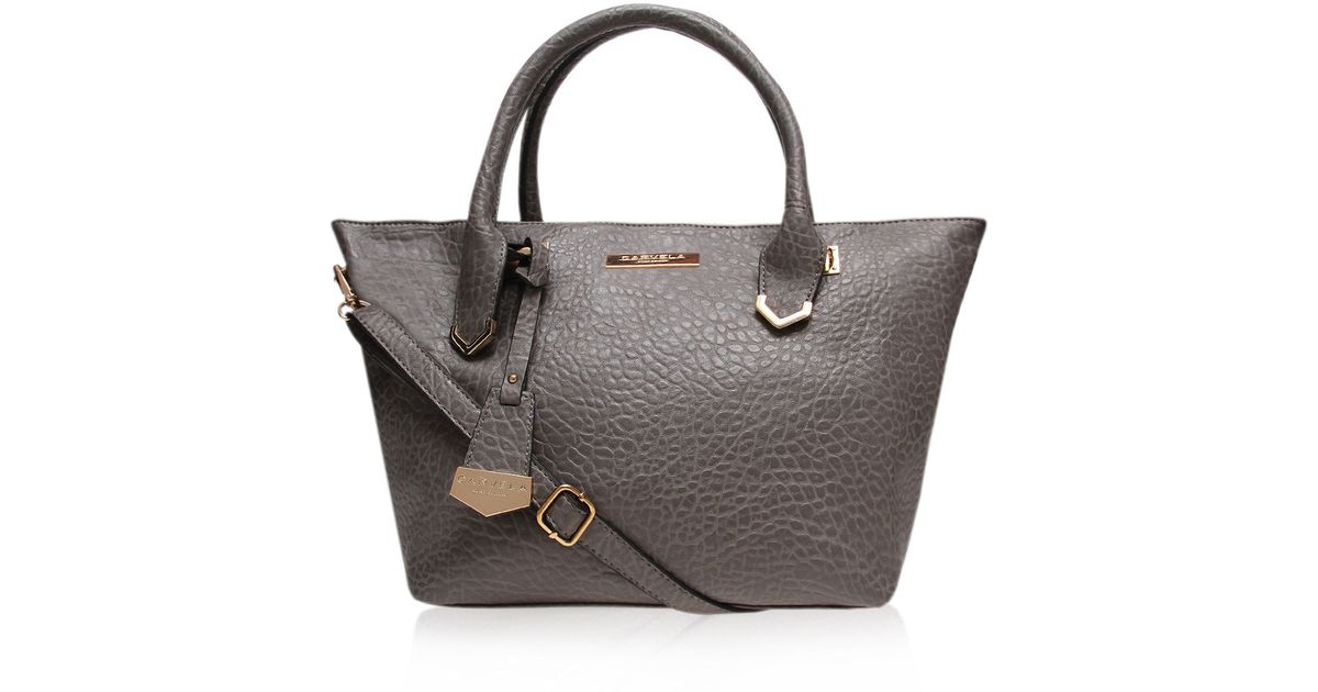 Lyst - Carvela Kurt Geiger Cheris Tote Bag in Gray a8c77024b3890
