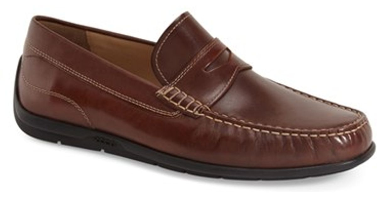 1b206e632f1 Lyst - Ecco  classic Moc 2.0  Penny Loafer in Gray for Men