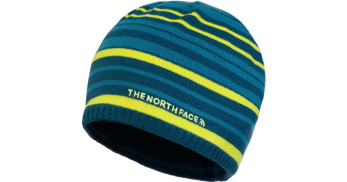 The North Face Rocket Beanie Hat in Blue for Men - Lyst 420c68698