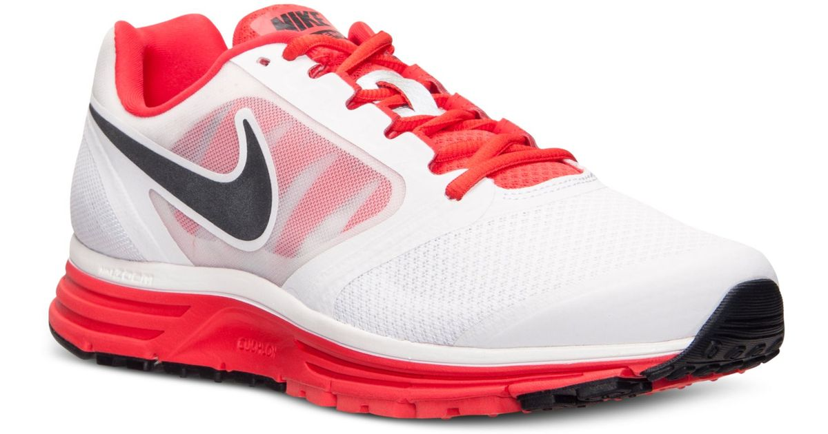 meet 794b0 a8ad5 Nike Mens Zoom Vomero 8 Running Sneakers From Finish Line in Red for Men -  Lyst