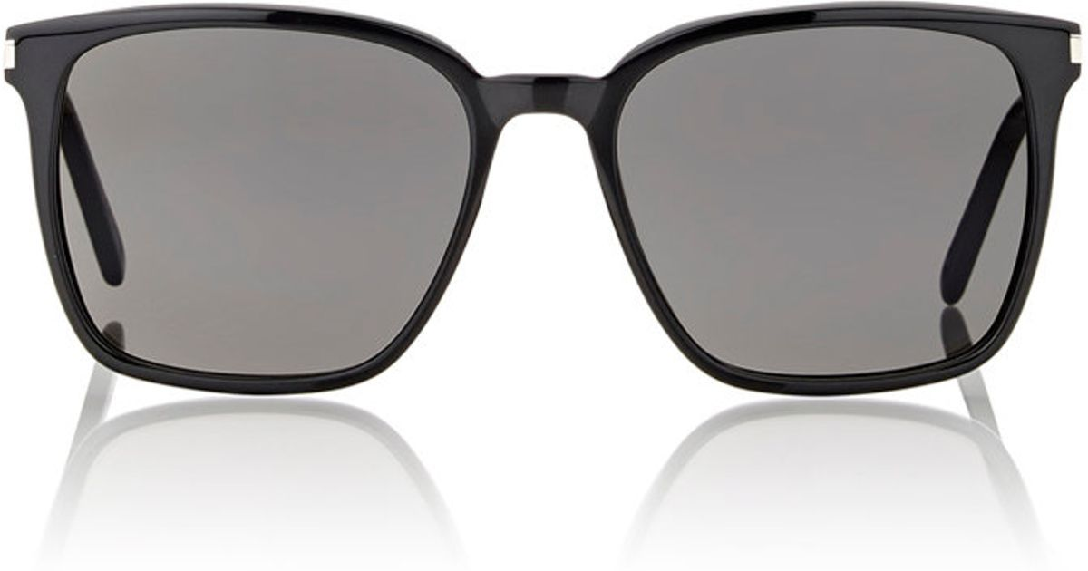 Rounded Square Sunglasses  saint lau rounded square sunglasses in black for men lyst
