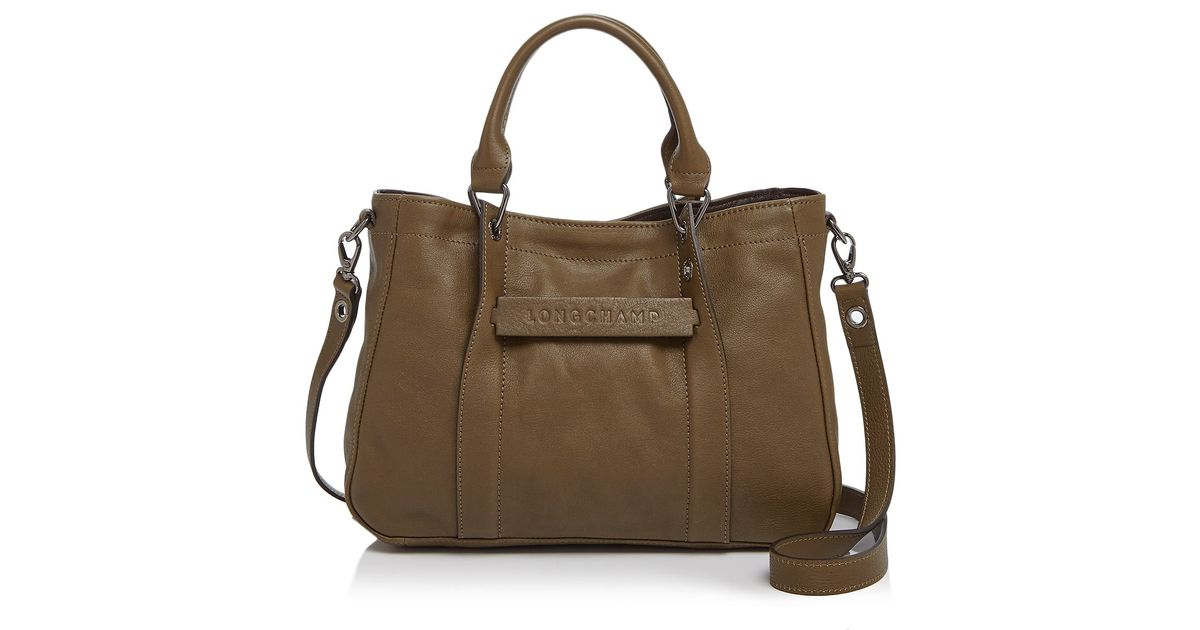 fbef89488c2 Longchamp 3d Small Tote in Natural - Lyst