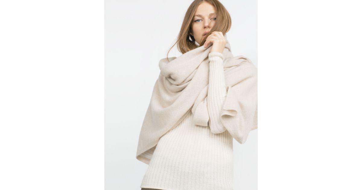 zara scarf in lyst