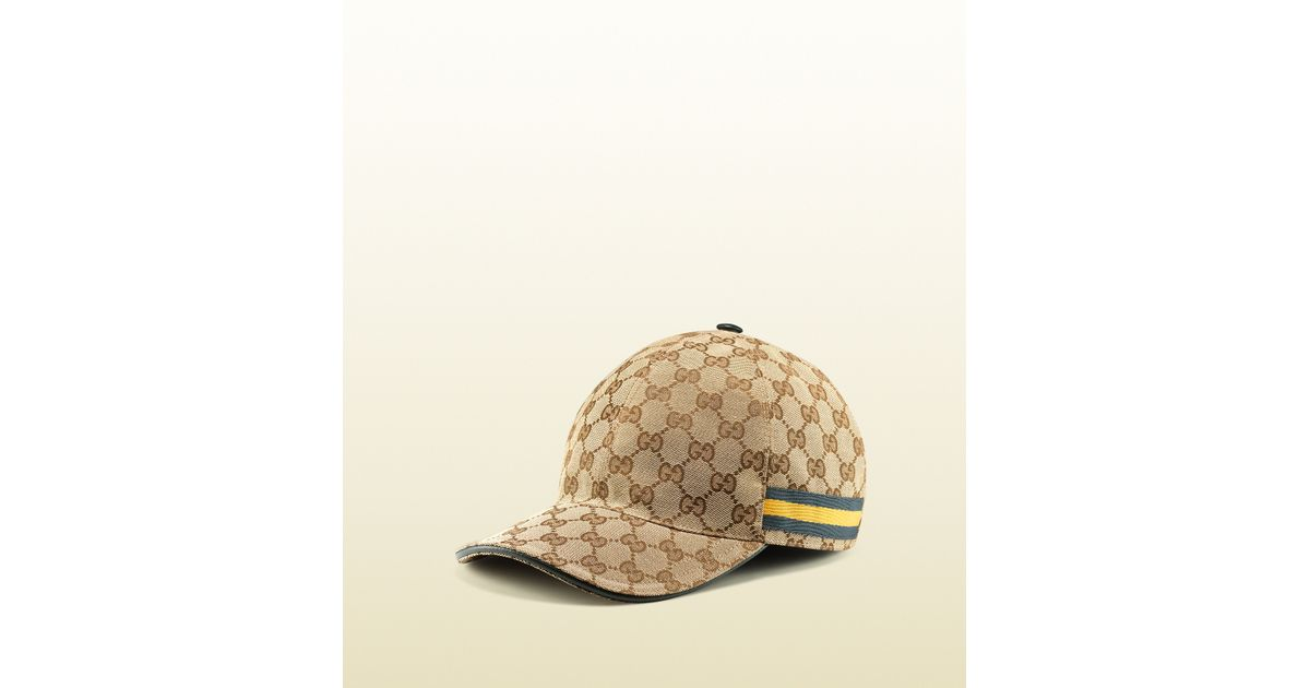 069751e4 Gucci Original Gg Canvas Baseball Hat in Brown for Men - Lyst