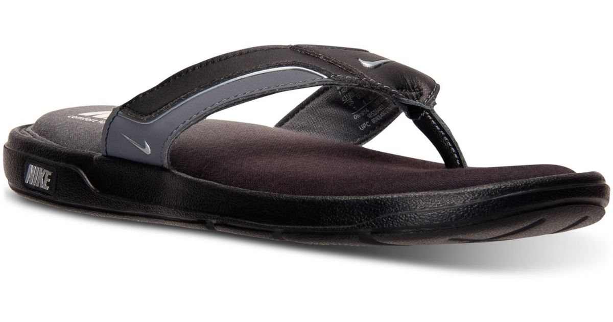 bc75c143dfe3bc Lyst - Nike Men s Solarsoft Comfort Thong Sandals From Finish Line in Black  for Men