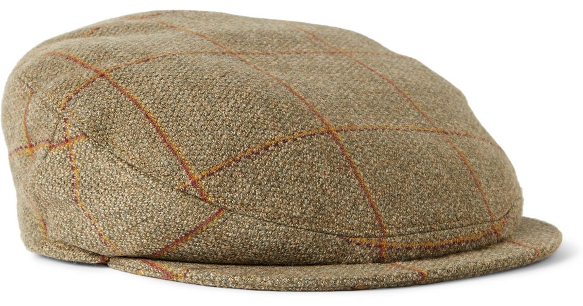 Checked Wool-blend Tech-tweed Flat Cap Musto Shooting t8qSgOAHde
