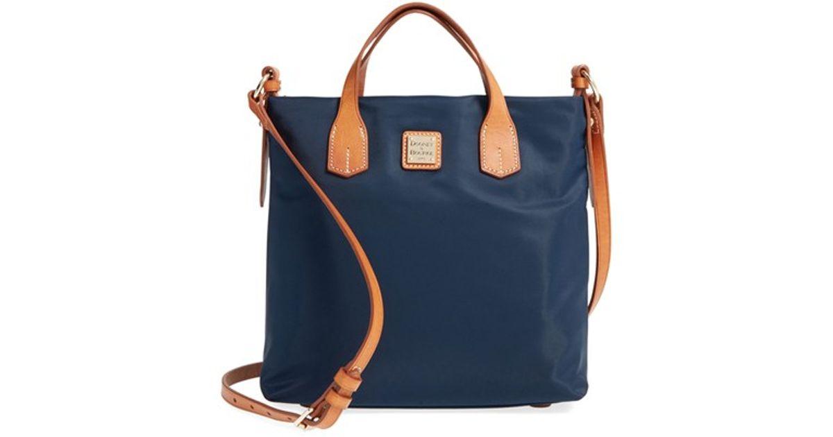 dooney bourke 39cleo letter carrier39 nylon satchel in With letter carrier satchel