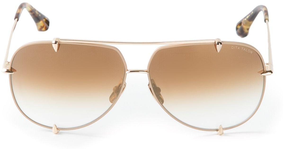 1336b05eb4d Lyst - Dita Eyewear  ambassador  Sunglasses in Metallic