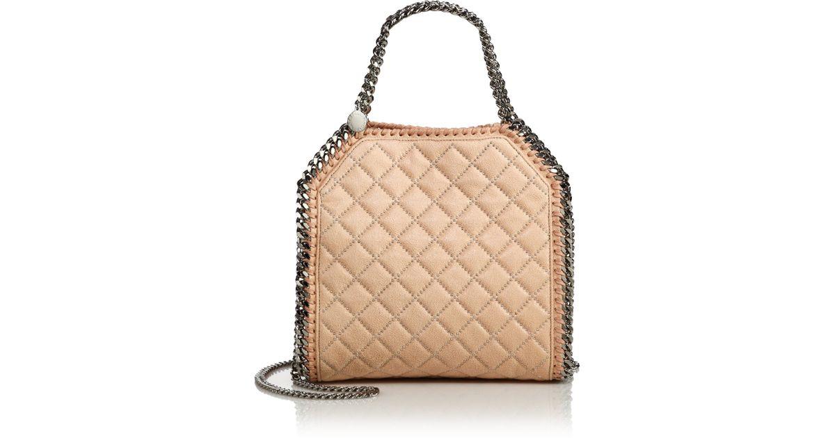 Stella mccartney Falabella Mini Baby Bella Quilted & Studded Faux ... : stella mccartney quilted bag - Adamdwight.com