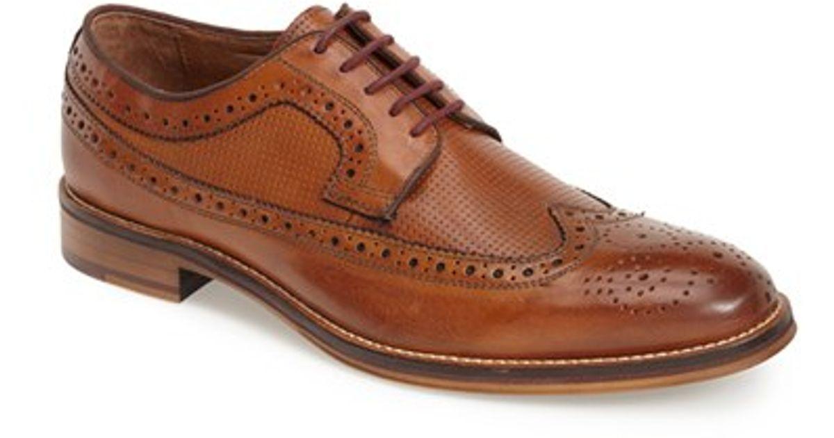 Johnston Amp Murphy Conard Longwing Spectator Shoe In