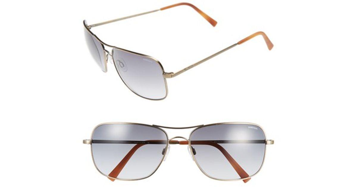 210ef091353 Lyst - Randolph Engineering  archer  63mm Sunglasses - Bronze Oxide  Gray  Gradient in Metallic for Men