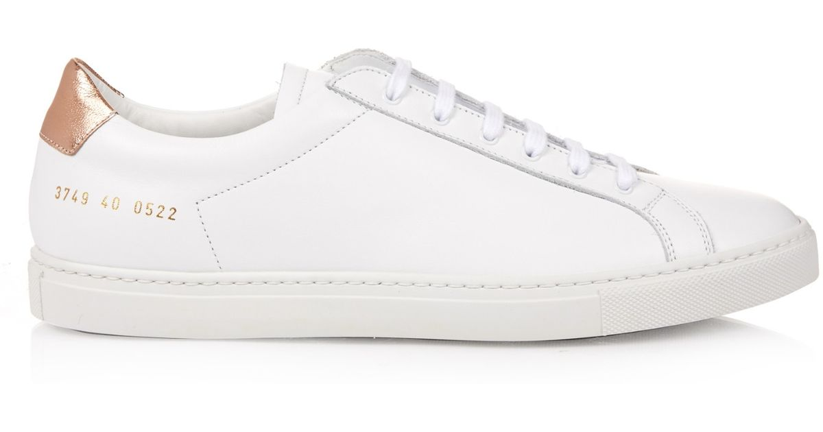 Cheap Best Wholesale Achilles retro low top sneakers - White Common Projects Hot Sale Free Shipping Hot Sale Looking For Cheap Online Buy Cheap New Styles xJpFvqB