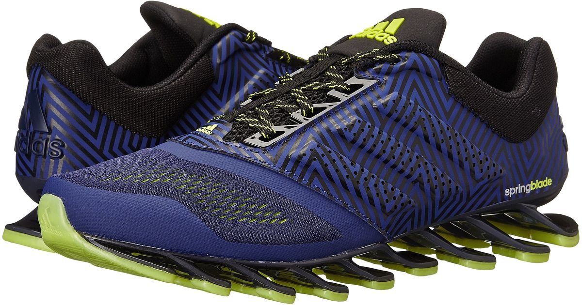 293b76ce5473 ... carregando zoom. c0637 aeda7  coupon code for lyst adidas springblade  drive 2 low top running sneakers in blue for men