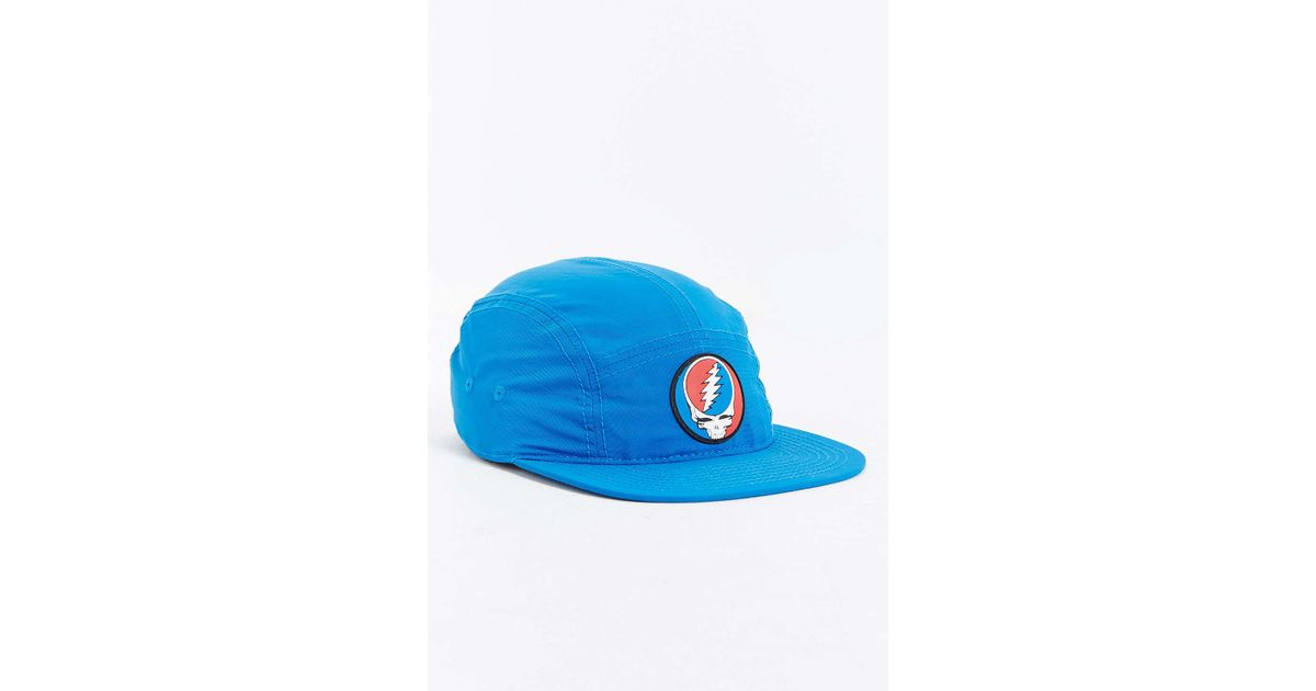 Lyst - Urban Outfitters Grateful Dead 5-panel Baseball Hat in Blue for Men fbed2620472a