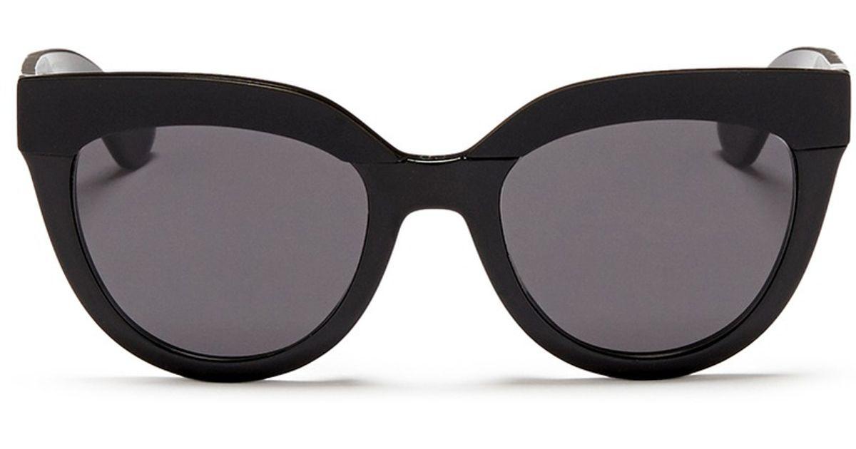 0748fd77d41 Lyst dior soft matte brow bar acetate cat eye sunglasses in black jpg  1200x630 Dior cat