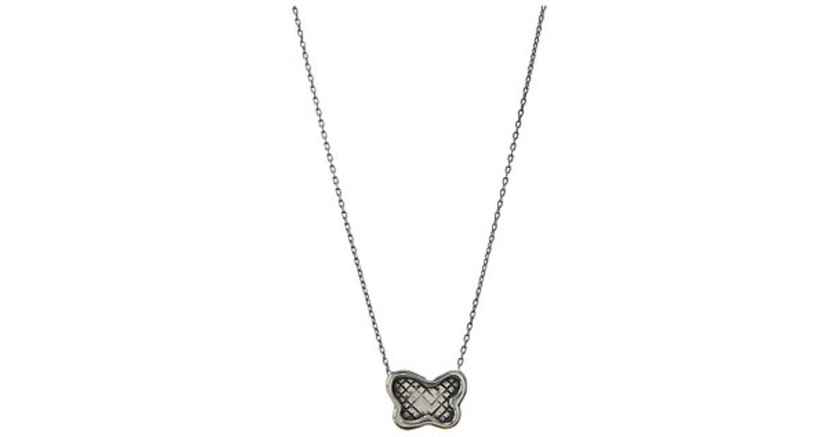 Bottega Veneta claw pendant necklace - Metallic JBJ3u