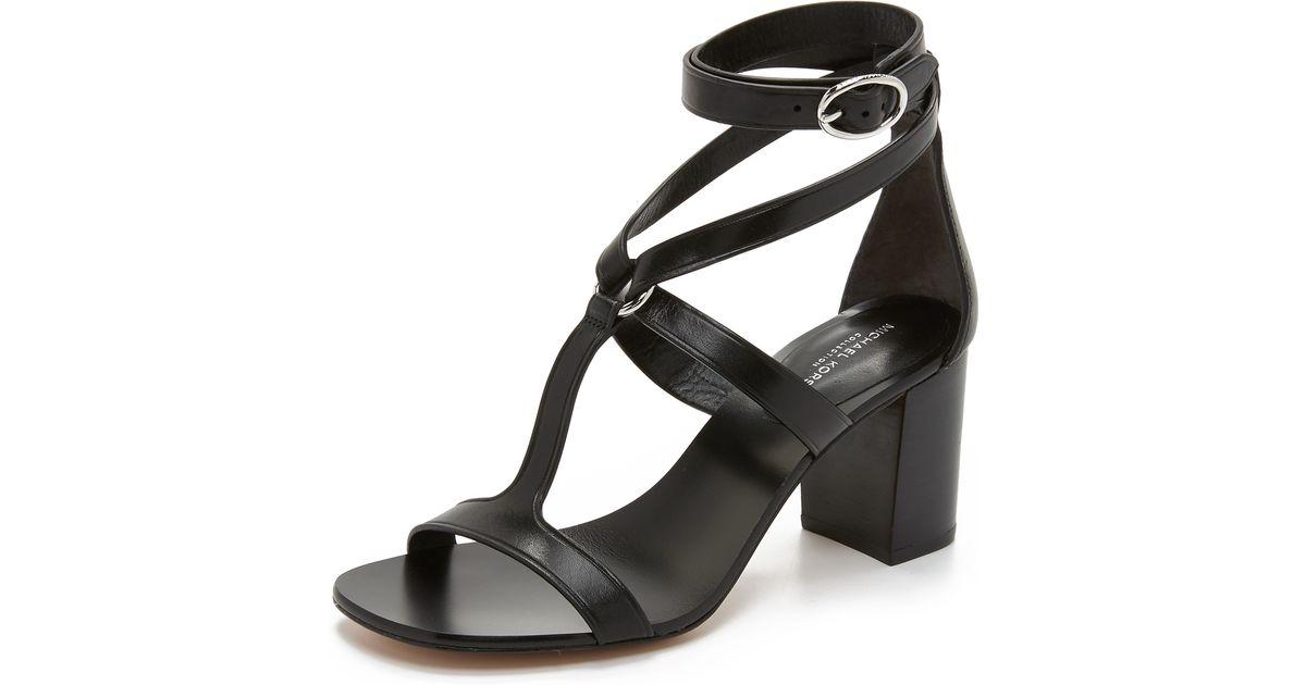 michael kors ellison city sandals in lyst