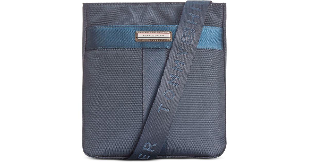 23a0136de0e Tommy Hilfiger Darren Crossbody Bag in Blue for Men - Lyst