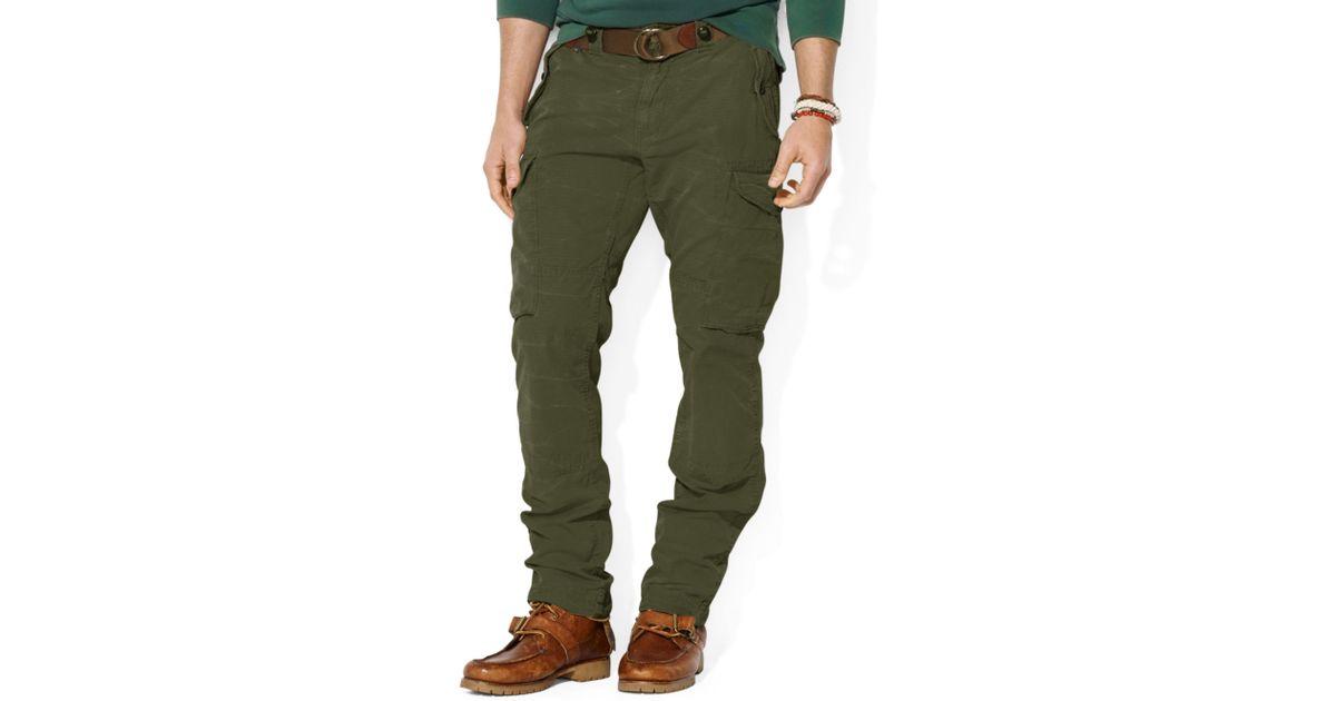 0ec7384e7 polo ralph lauren straight fit canadian ripstop cargo pants - Dr. E ...