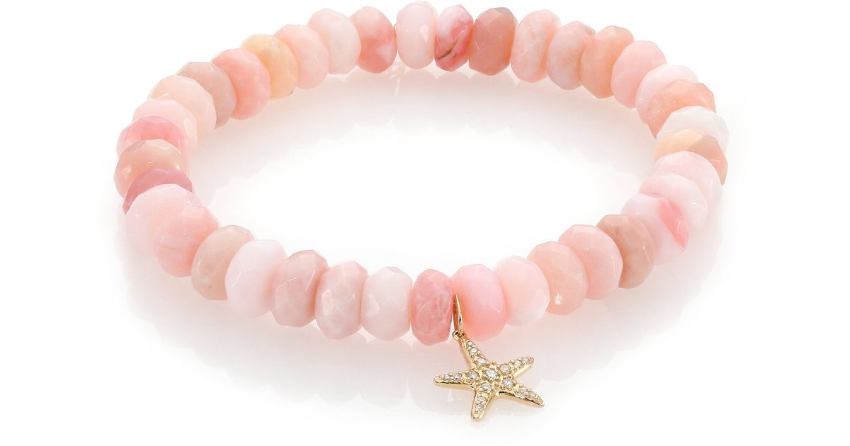 bracelet products copy of gray pave pink opal