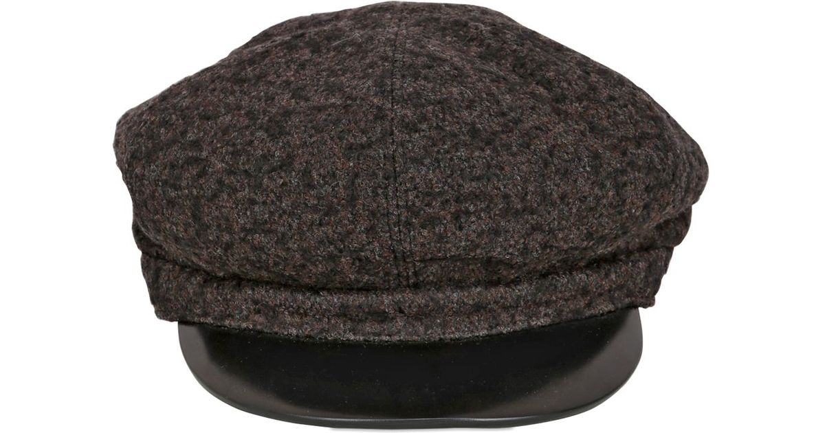 Superduper Hats Wool Conductor Hat in Black for Men - Lyst 719fe6f6b17c