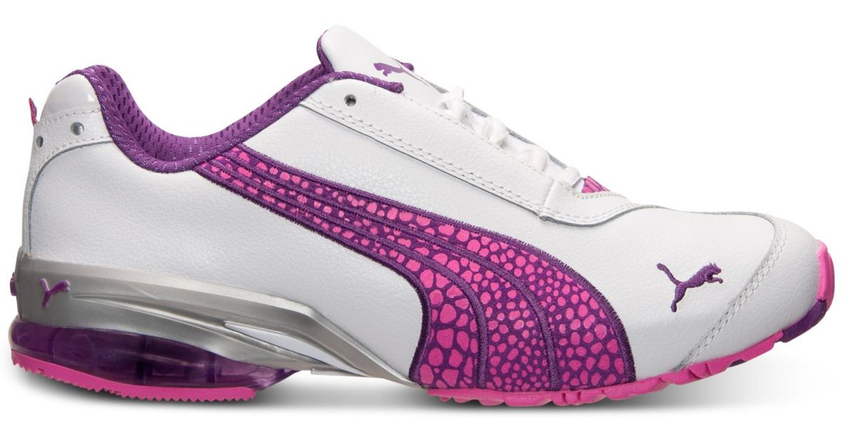 709fe6d429b3 Lyst - PUMA Women S Cell Jago 8 Running Sneakers From Finish Line in Pink