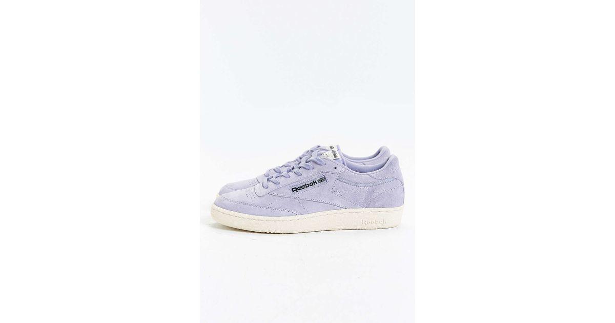 e5609e4f59b7 Lyst - Reebok Club C 85 Pastel Sneaker in Blue for Men