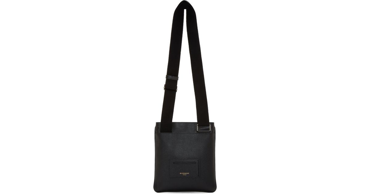 49ce46df6 Givenchy Black Small Codification Crossbody Bag in Black for Men - Lyst