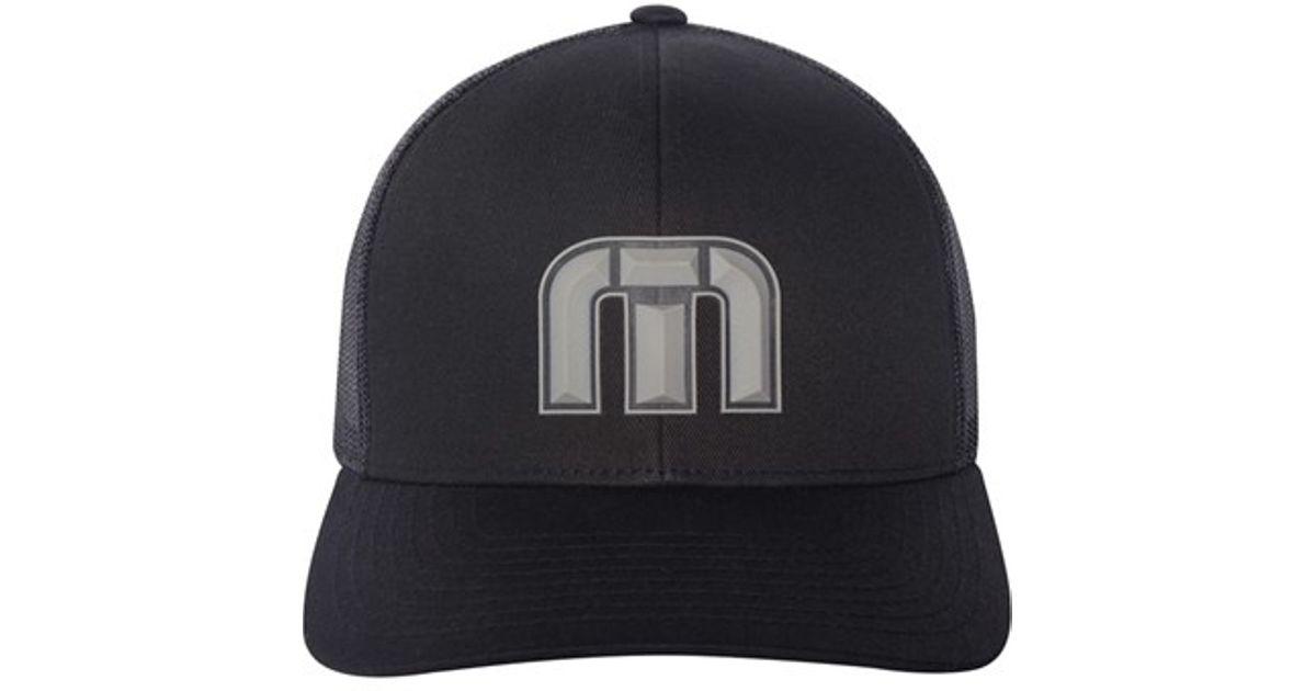 buy online a0348 9f82c ... order lyst travis mathew felix snapback hat in black for men 730f3 7847b