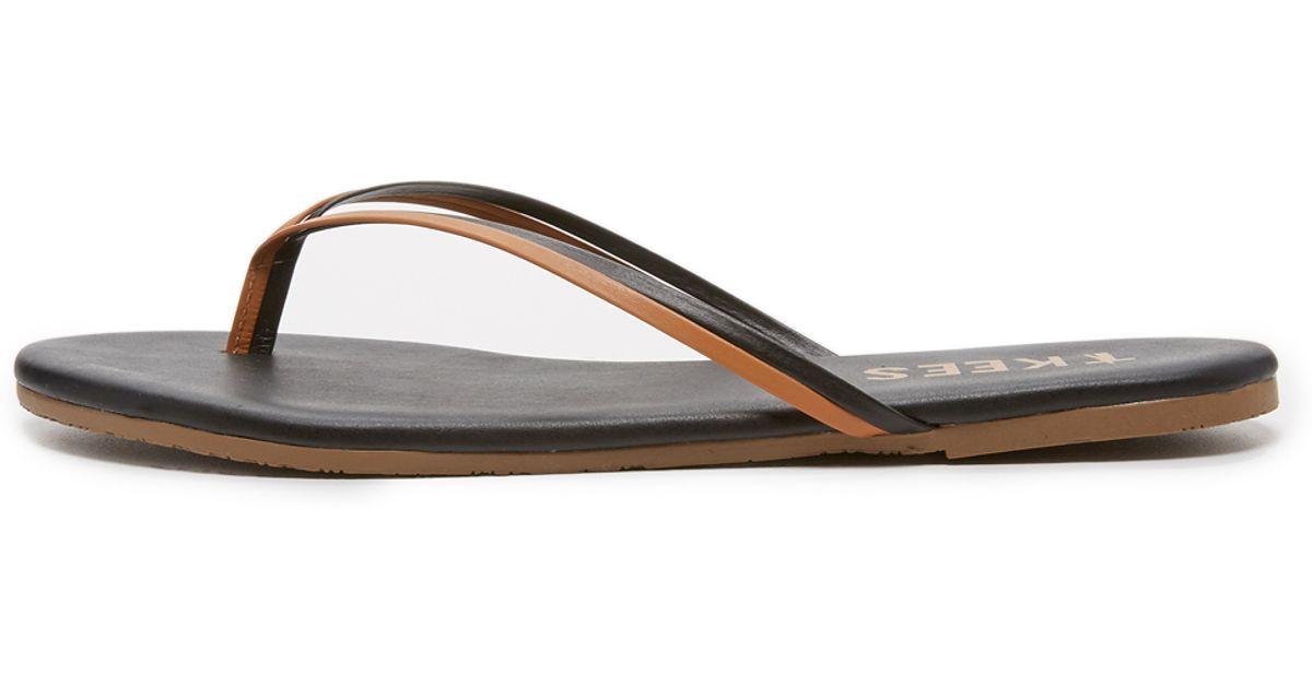 1baa5415fd4 Lyst - Tkees Duos Flip Flops in Brown