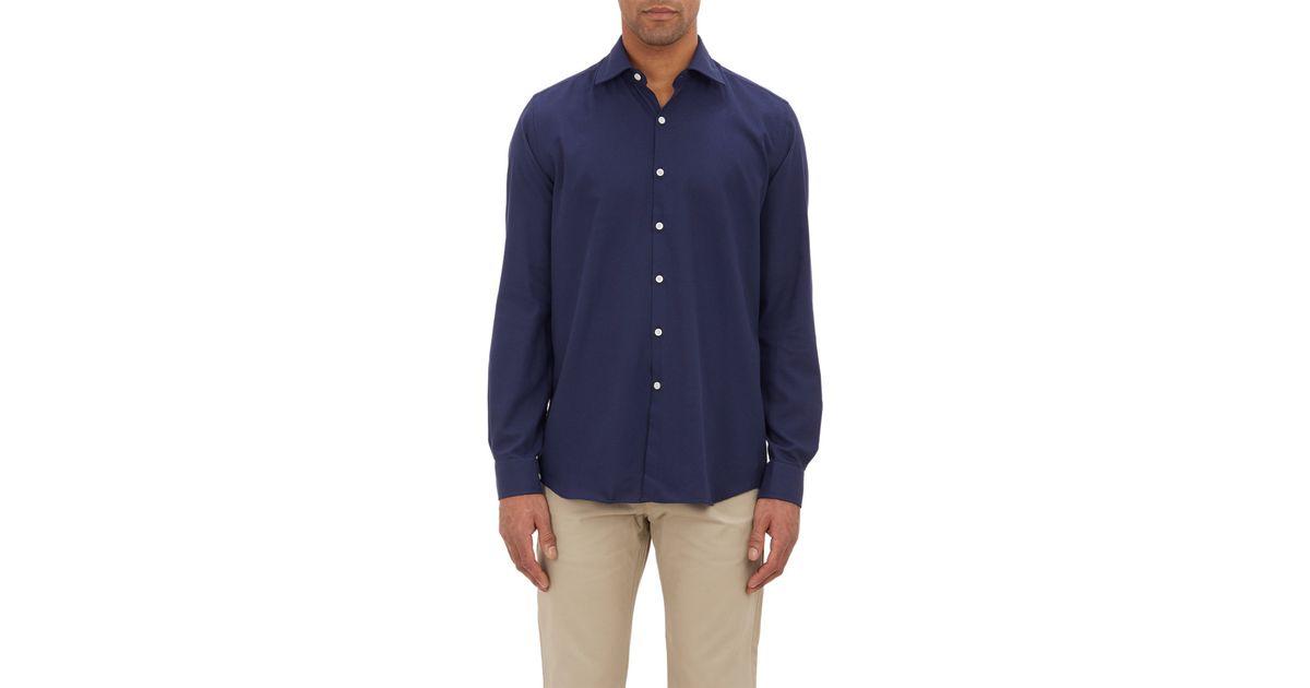 Outlet Wholesale Price Mens Striped Linen Short-Sleeve Shirt PIATTELLI Best Place To Buy Online zeqtlf