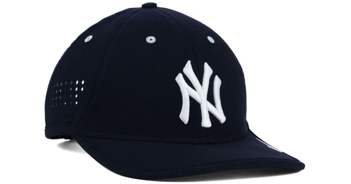 best service 459f8 c908b ... netherlands lyst nike new york yankees vapor swoosh adjustable cap in  blue for men 49e19 af523