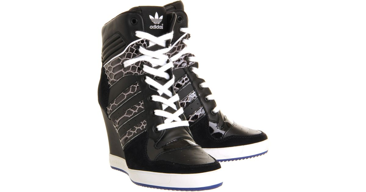 Lyst - adidas Rivalry Wedge in Black