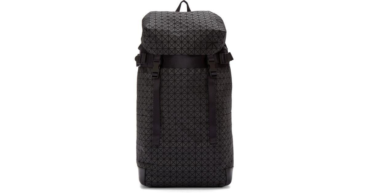 04089abc8e Lyst - Bao Bao Issey Miyake Black Geometric Matte Hiker Backpack in Black  for Men
