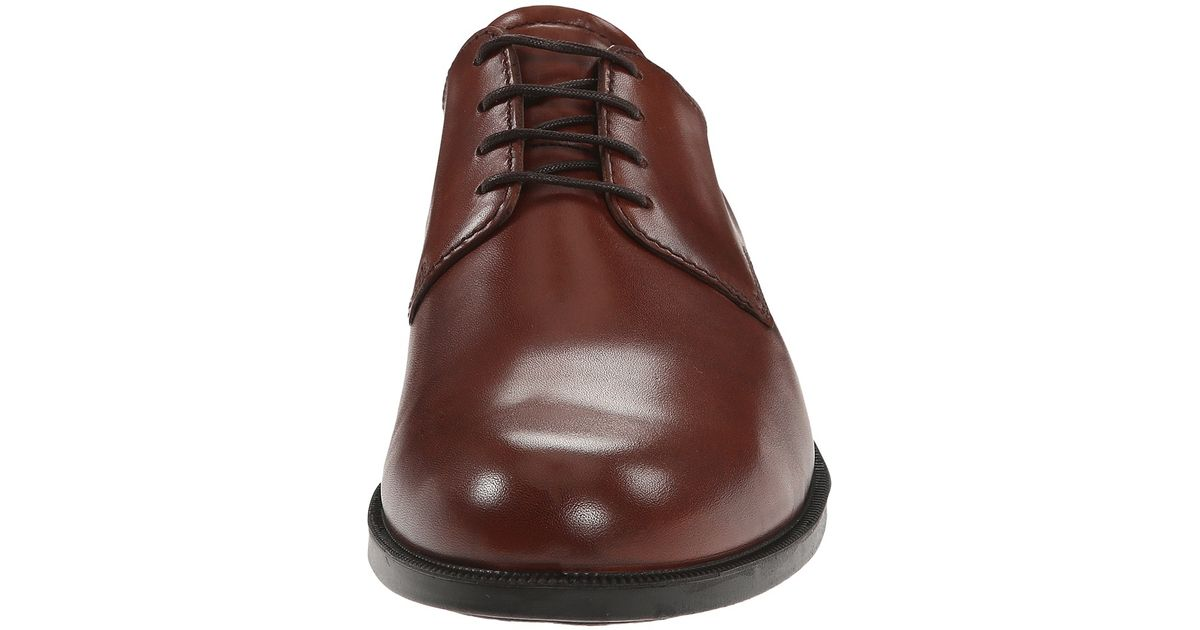 discount up to 60% elegant and graceful a great variety of models Ecco - Brown Harold Plain Toe Tie for Men - Lyst